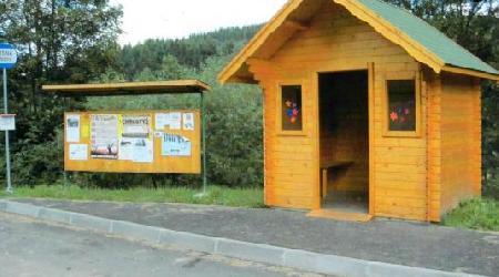 Výstavba autobusových čekáren, parkoviště..0